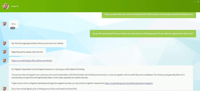 hosting data uk customer support testing a2 hosting