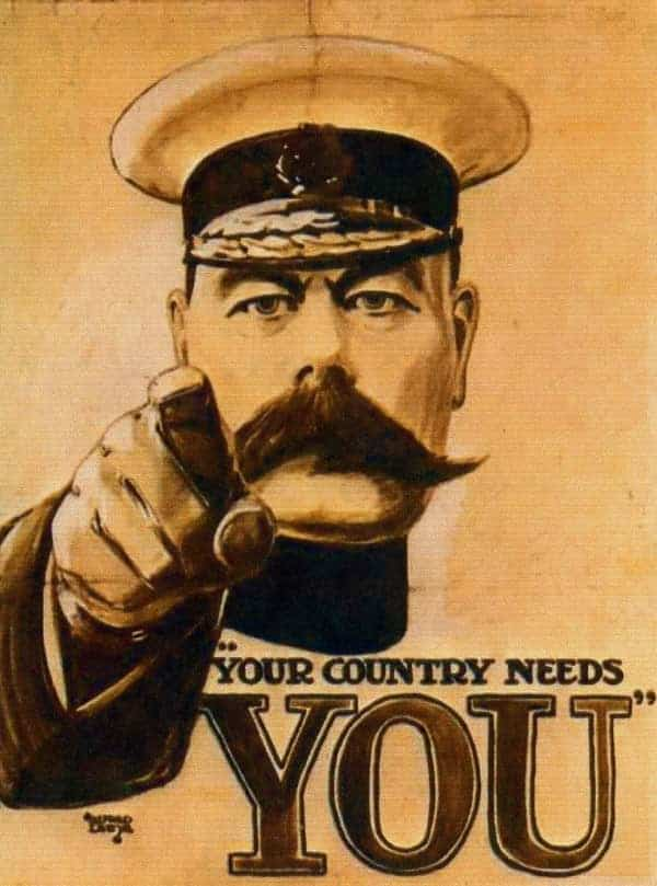 lord kitchener your country needs you UK