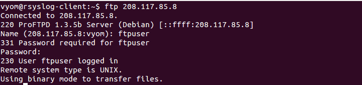 FTP Your FTP Server IP