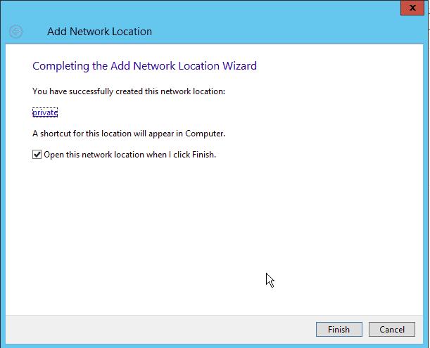 Open Network Location