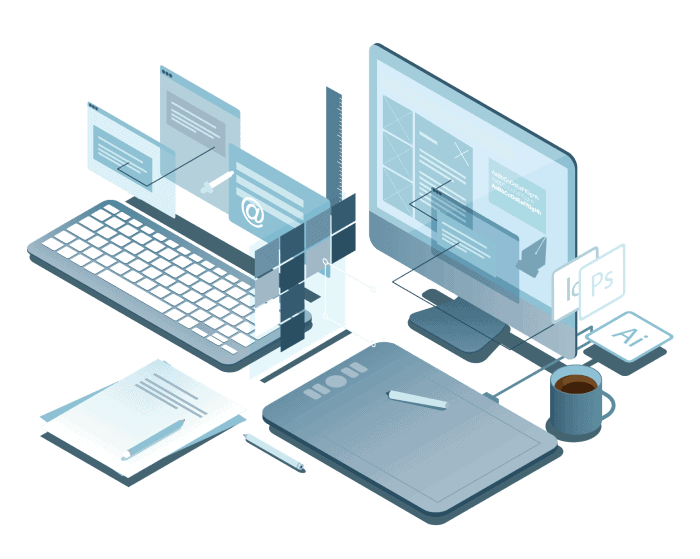 web design setup