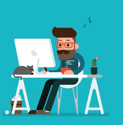 web designer work from home
