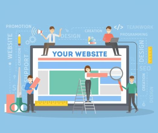 website builder team