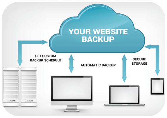 what is website backup