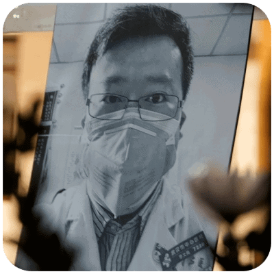 Dr. Li Wenliang censored corona virus