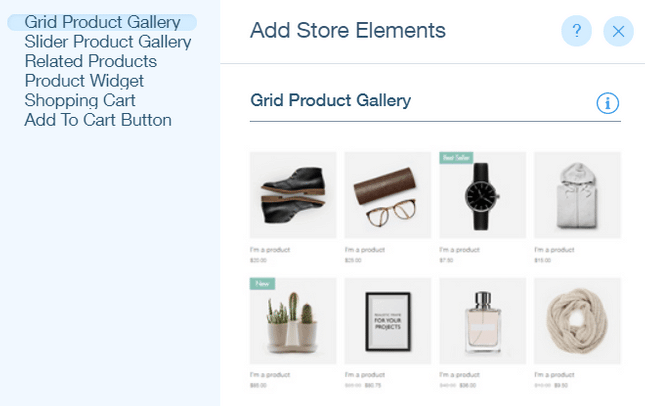 Add Store Elements