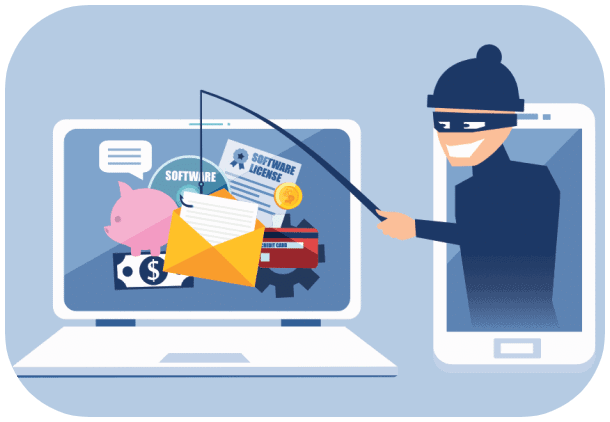 email phishing security
