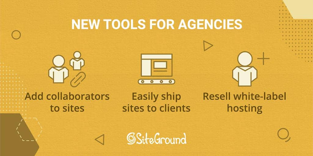 siteground agency tools collaborators
