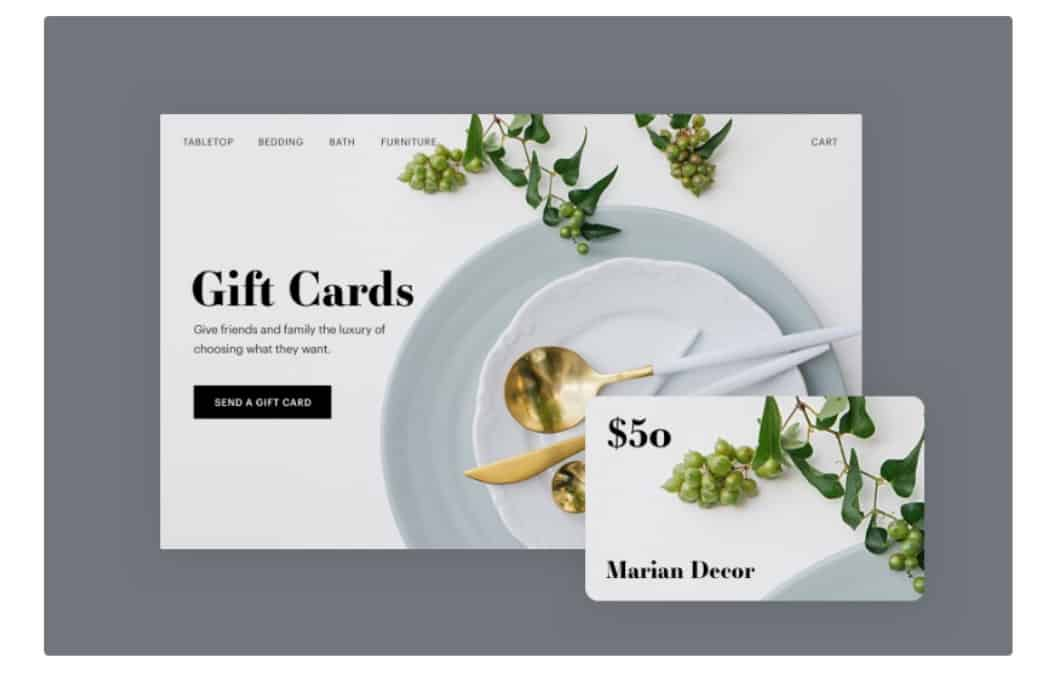 Weebly Giftcards