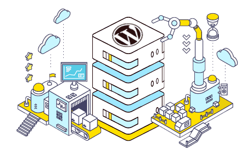 wordpress hosting server