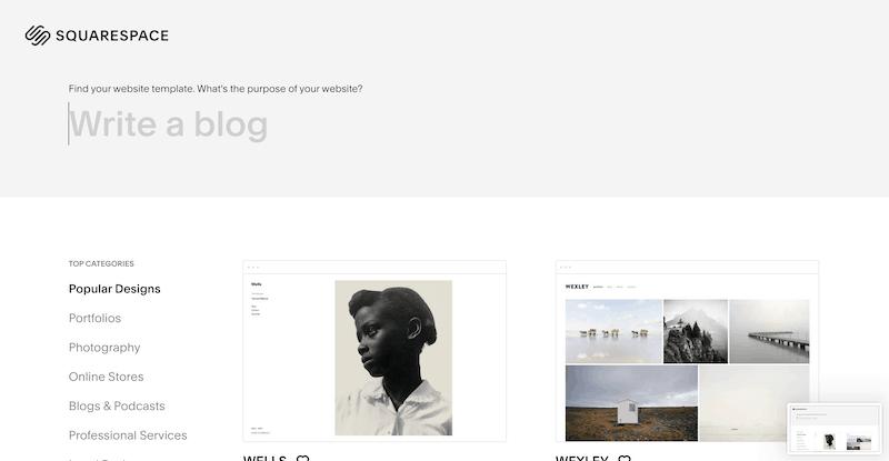 Squarespace Blog