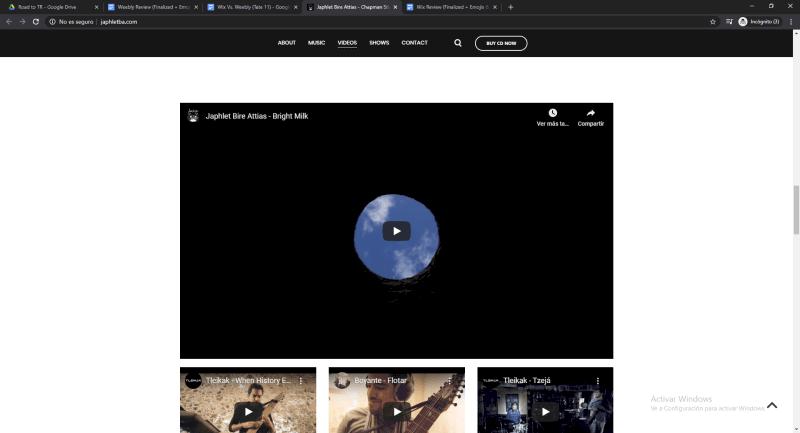 weebly japhletba website