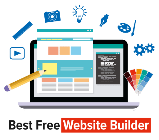 Best Free Website Builder Badge