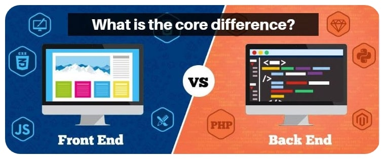 front-end-back-end-differences