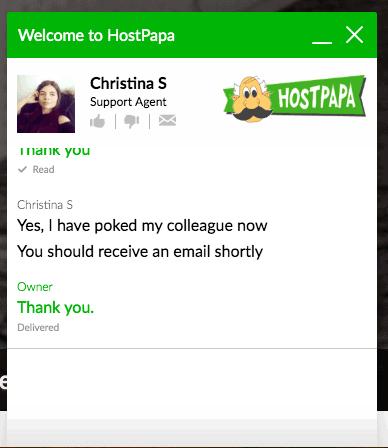 Hostpapa-customer-support