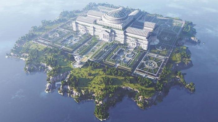 minecraft-library-island