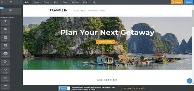 Arrange Website