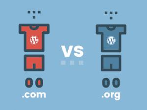 Wordpress com vs Worpress org