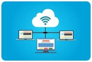 Dedicated virtual servers illustration