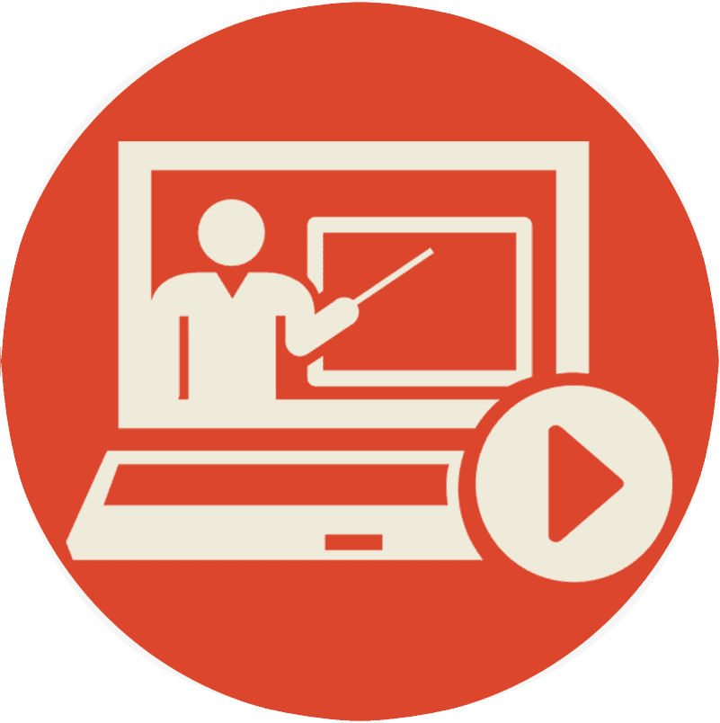 online educational courses icon