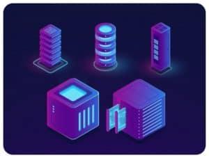 Virtual servers illustration