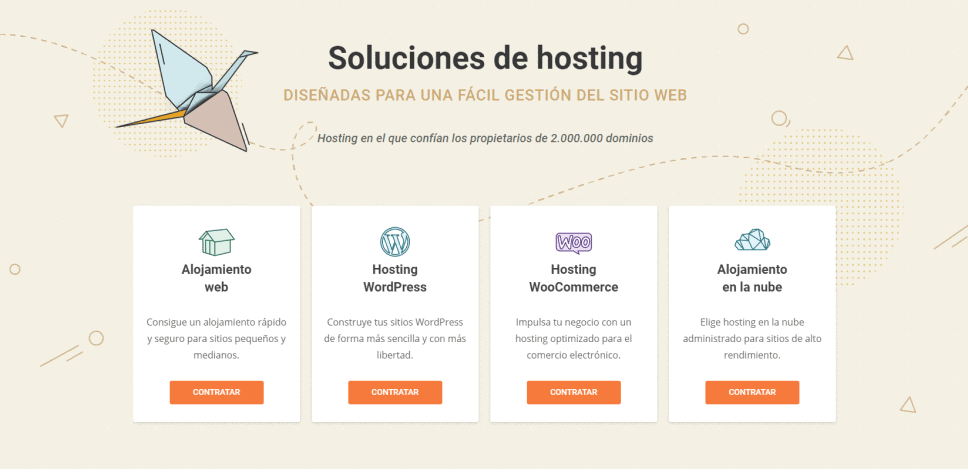 Alojamiento web de Siteground