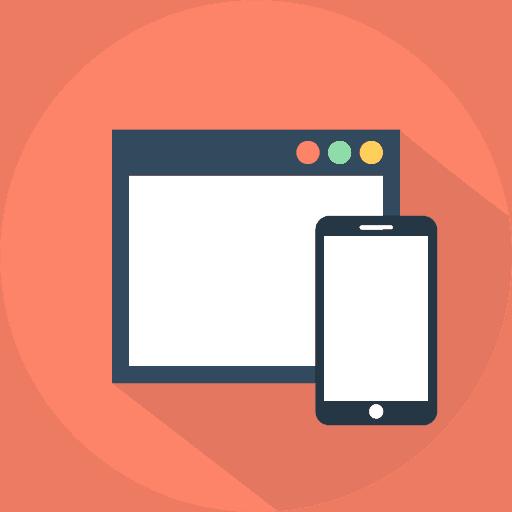 Mobile Responsive icon