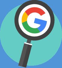 delete google search history icon