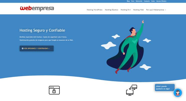diseño del sitio webempresa