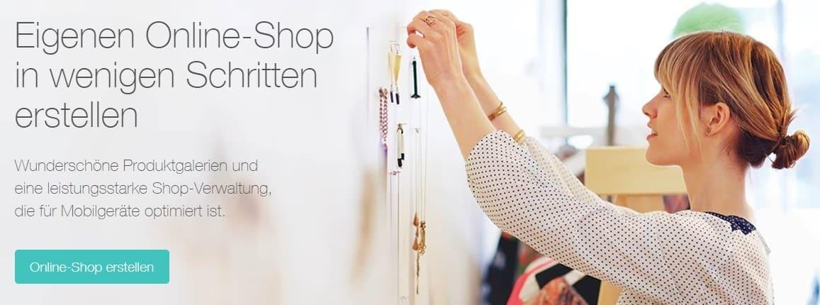 Wix Online-Shop