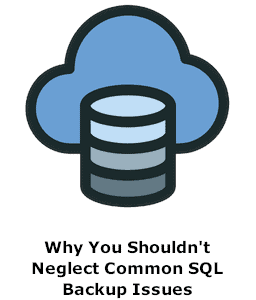 Why You Shouldn't Neglect Common SQL Backup Issues