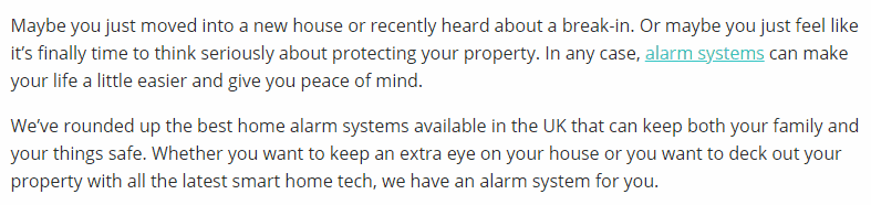 Best home Alarm Systems in the UK