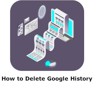 How to delete google history