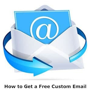 How to get a free custom email