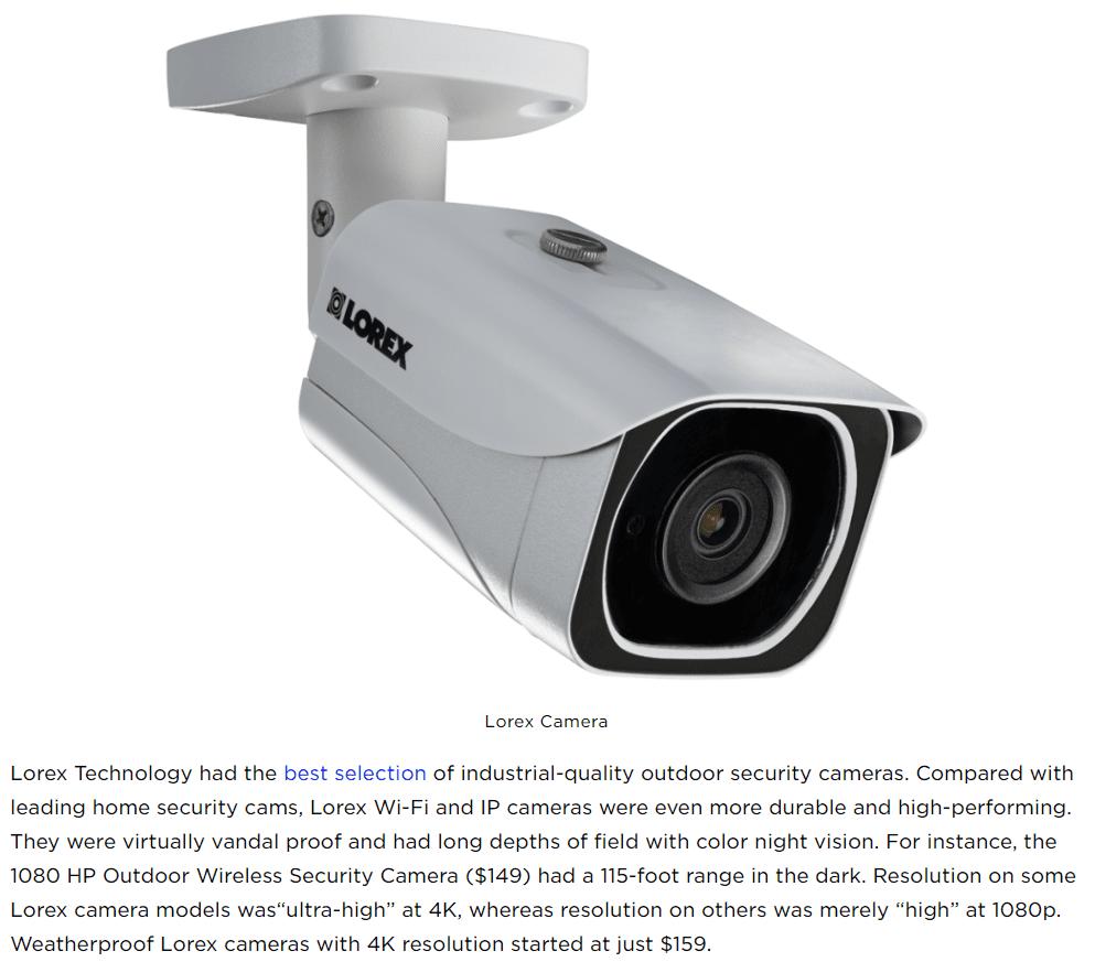 Lorex Technology