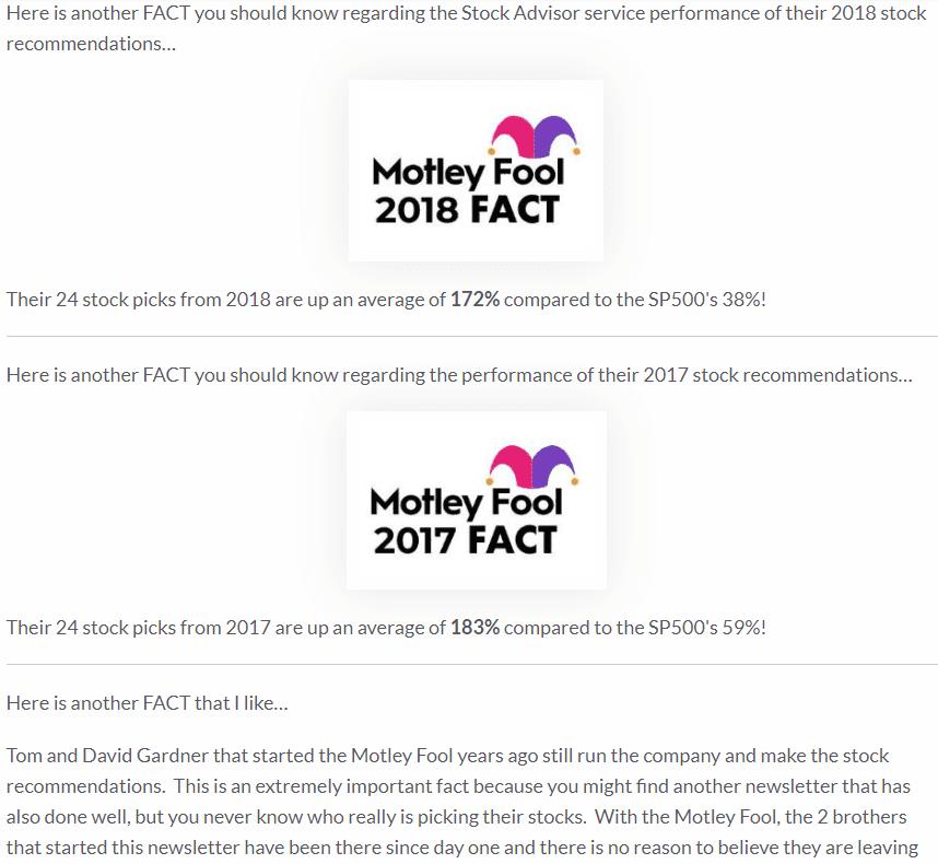 motley fool 2018 fact