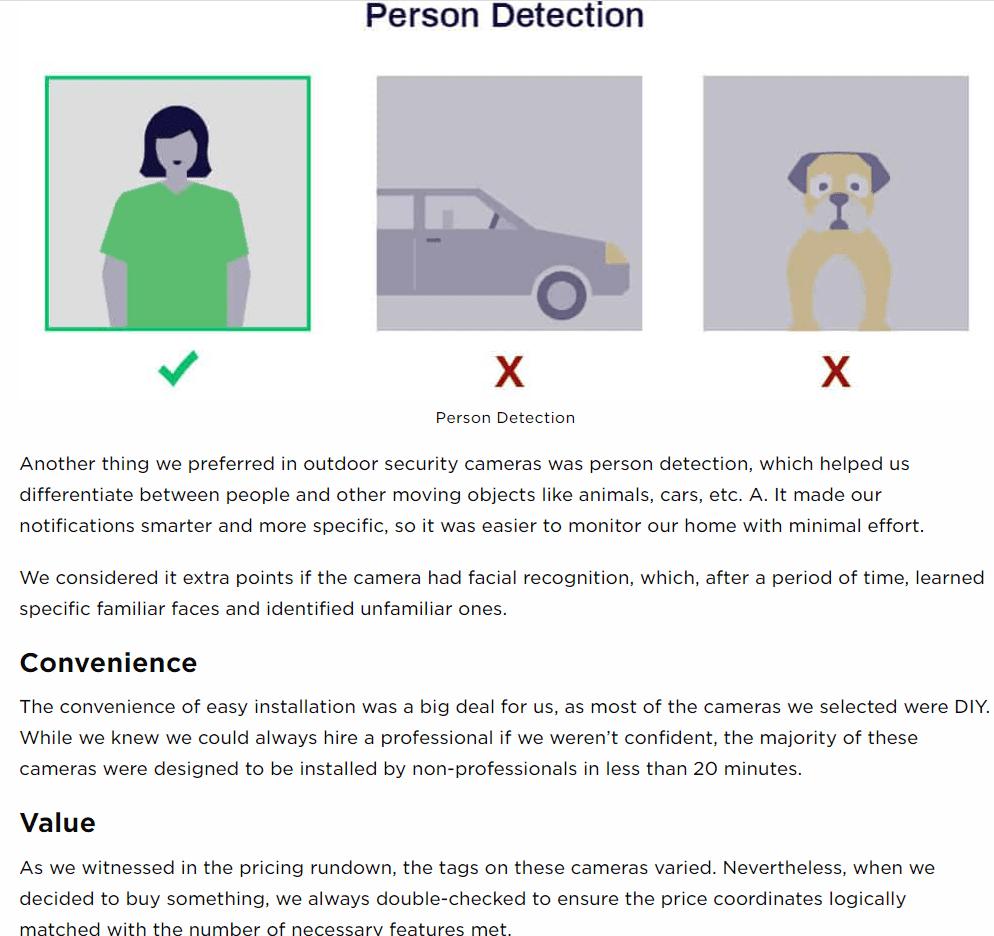 Person detection