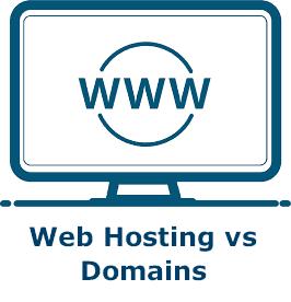 Web Hosting vs Domains