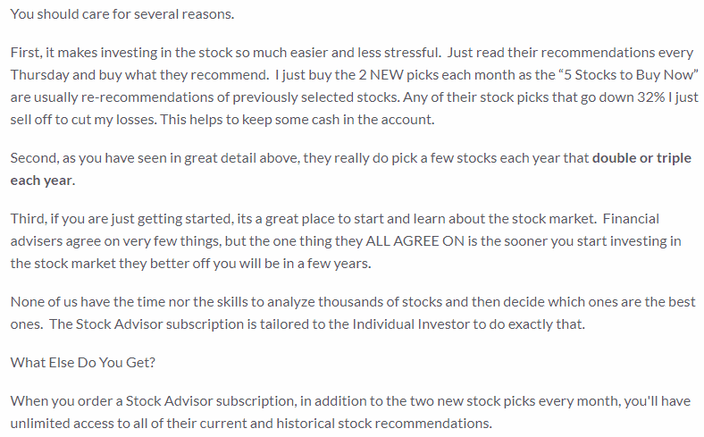 why you should care about motley fool