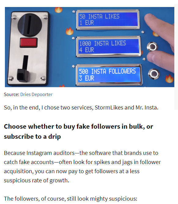 buy fake followers in bulk