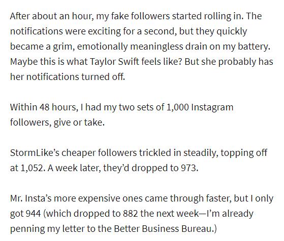 buying instagram followers