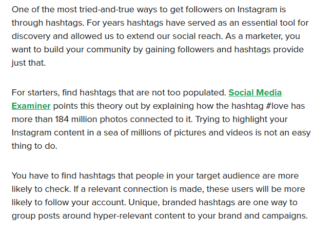 find hashtags that convert