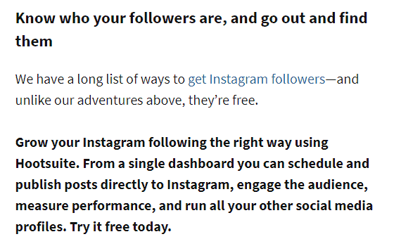 know your followers