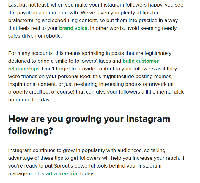 make your instagram followers happy
