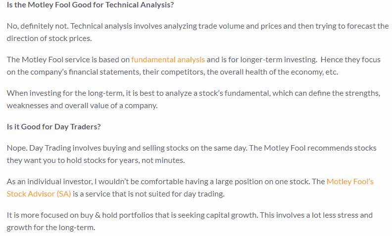 motley fool technical analysis