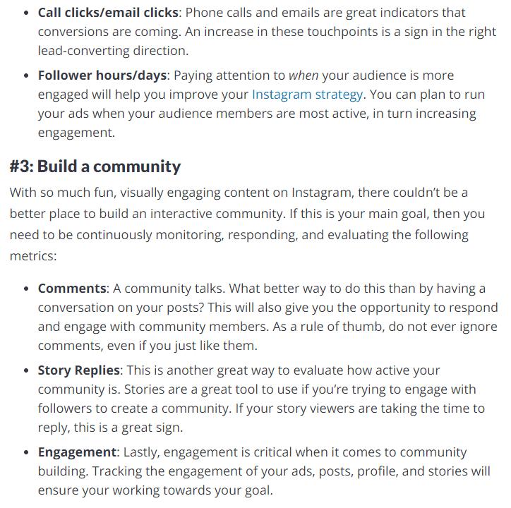 Build an Instagram Community