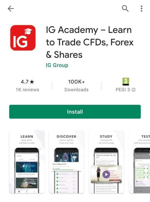 IG academy app