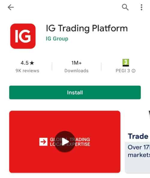 IG app