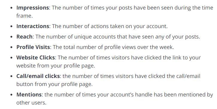 Instagram Profile Insights