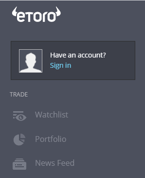 etoro account